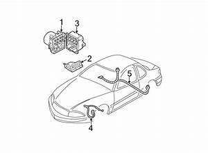 Oldsmobile Alero Harness  Wire  Sensor  Abs  1999