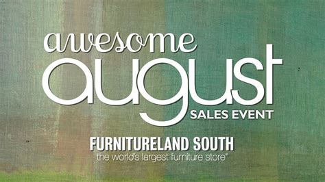 furnitureland souths awesome august sales event youtube