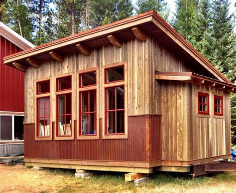 Shed Roof Cabin By Lost Cabin Studios, Sandpoint, Idaho