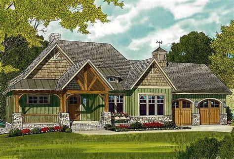 plan lv rugged craftsman home   sloping lot craftsman jack oconnell  craftsman