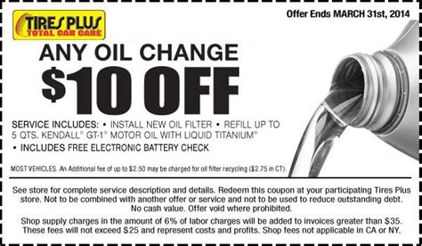 tires  oil change coupons archives cheap oil change