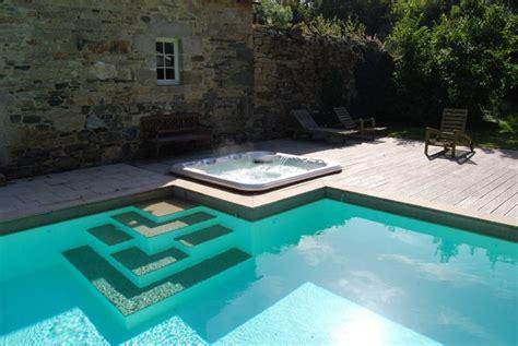 escaliers de piscine et plages immerg 233 es escalier design par l esprit piscine
