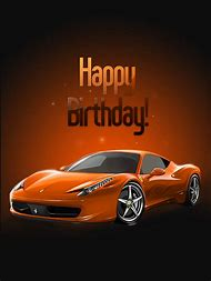 Happy Birthday Car Card