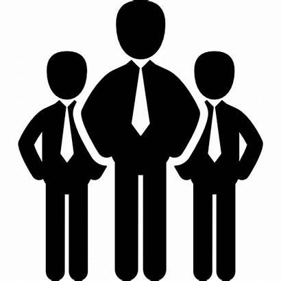 Icon Professional Team Icons Businessman Service Professionals