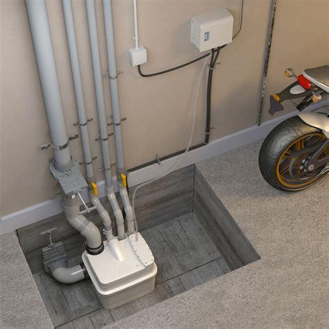 pompe de relevage pour cuisine station de relevage sanicubic 1 wp eaux chargées