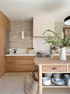 Trends We Love  Natural Wood Cabinets