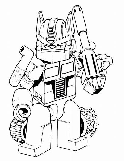 Rescue Bots Coloring Pages Printable Transformer Getcolorings