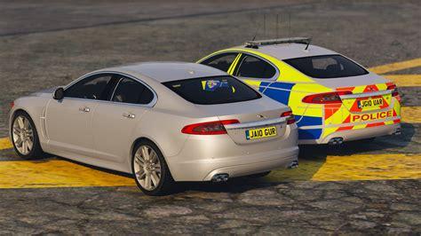 jaguar xfr police pack vehicules pour gta  sur gta