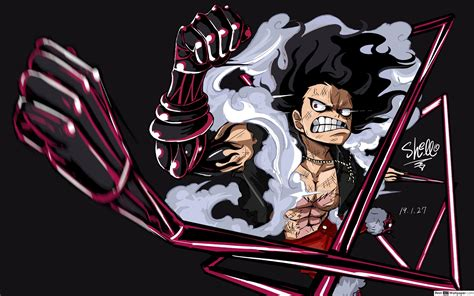 Monkey D. Luffy Gear Four Snakeman Hd