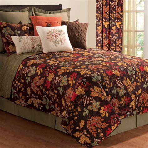 Quilts And Coverlets by Amison Autumn Leaf Quilt Bedding