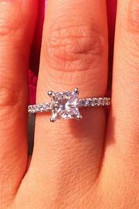 Princess cut engagement ring | Princess Cut Engagement ...