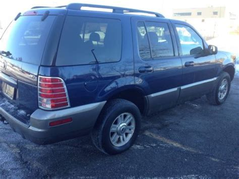 Sell Used 2004 Mercury Mountaineer 4.0. Awd Automatic 3rd