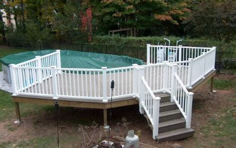 building  ground pool deck  ground pool deck