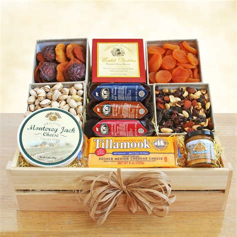 meat and cheese gift basket best occasion sympathy new baby birthday gift