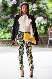Blazer Femme Fleuri : ivory asos shirts black studio zara blazers yellow clutch bershka bags bow tie shirt by ~ Melissatoandfro.com Idées de Décoration