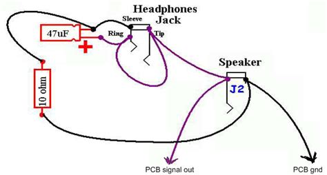 Earphone Wiring Diagram by Ruby Headphone Wiring With Dpdt Switch Using One
