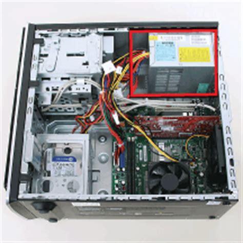 replacing  power supply  hp  compaq desktop pcs