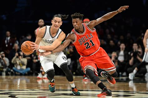 brooklyn nets  chicago bulls  jimmy butler pours