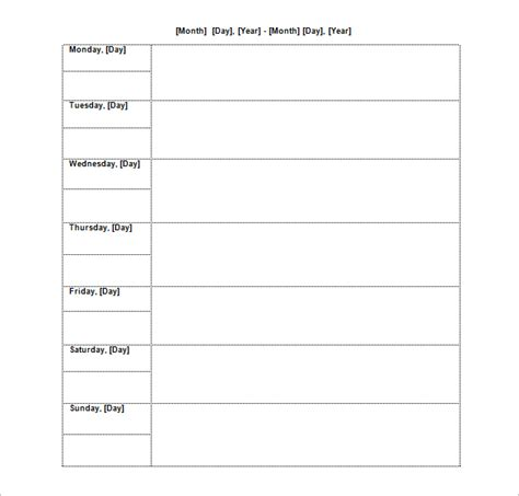 Time Agenda Template Word by Project Schedule Templates 20 Formats Exles Guide
