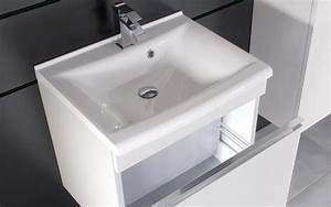 Petit Meuble Vasque : meuble vasque petite salle de bain ~ Teatrodelosmanantiales.com Idées de Décoration