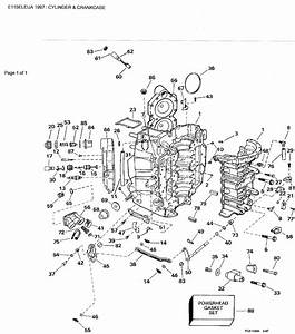 1997 115 Evinrude Missing On Bottom Cylinder At Low Rpms