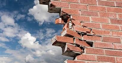 Crumbling Wall Brick Walls Suburbanites Districts Styles