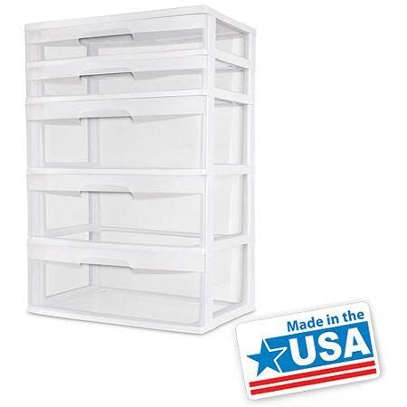 sterilite 5 drawer wide tower white 17 best images about open space on plastic
