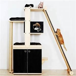 Arbre A Chat Moderne : coup de coeur pour ces arbres chat qui donnent terriblement envie d 39 tre un chat insolite ~ Melissatoandfro.com Idées de Décoration