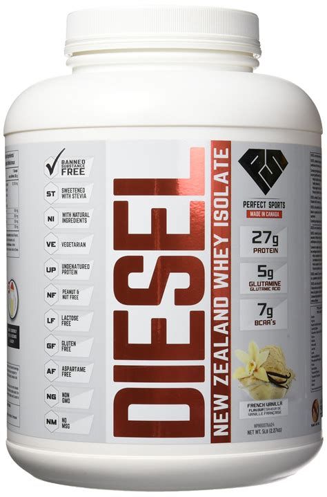 Amazon.com: Diesel New Zealand Whey Protein - Milk