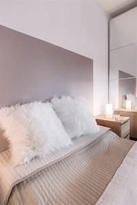 Chambre Parentale Cosy : chambre cocooning taupe beige et blanc chambre cosy tete ~ Melissatoandfro.com Idées de Décoration