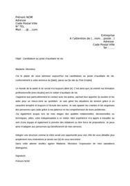 cover letter exle lettre de motivation gratuite deavs