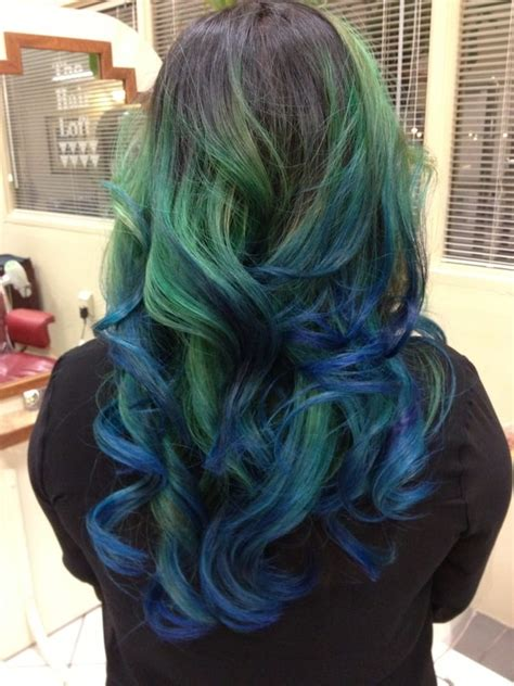 Green To Blue Ombré Yelp
