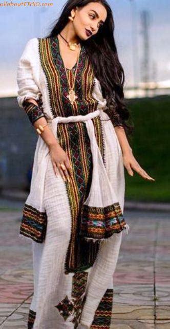 amazing modern traditional dress habesha kemis