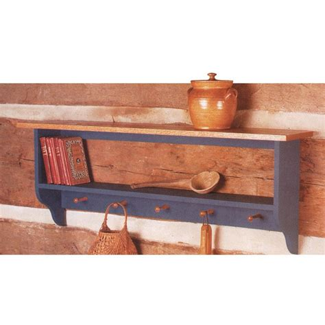 country collection wall shelf woodworking plan  wood