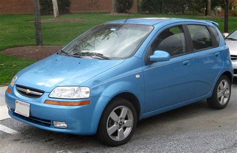 The chevrolet aveo is chevy's smallest, least expensive car. Chevrolet Aveo 2002-2008 Service Repair Manual