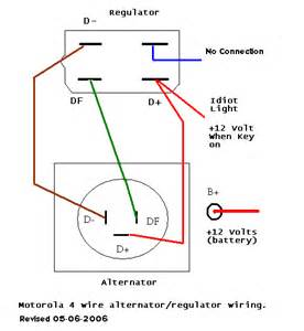 motorola voltage regulator wiring diagram motorola bosch internal regulator alternator wiring diagram bosch on motorola voltage regulator wiring diagram