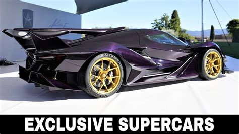 Top 10 Exclusive Cars Custom Made For The Super Rich (2018