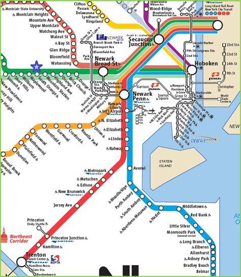 light rail nj map nj transit light rail route map www lightneasy net
