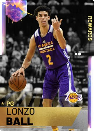 lonzo ball nba  custom card kmtcentral