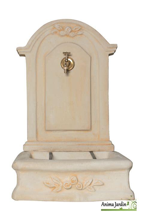 fontaine murale romantique mm en reconstitu 233 e 96 cm de haut ton vieilli achat vente