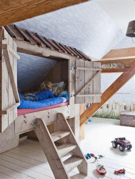 cabane dans chambre les plus beaux lits en bois myqto com
