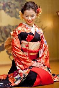 Moderne Japanische Kleidung : japanese style hair in 2019 japanischer kimono japanische kleidung kleidung ~ Orissabook.com Haus und Dekorationen