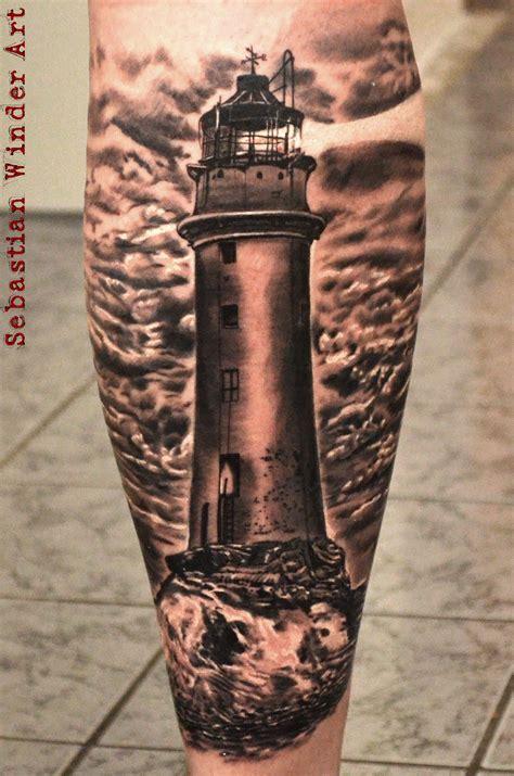 wwwunbunt tattoode leuchtturm lighthouse tattoo