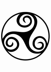 Symboles De Protection Celtique : coloriage symbole celte trisk le img 19189 ~ Dode.kayakingforconservation.com Idées de Décoration