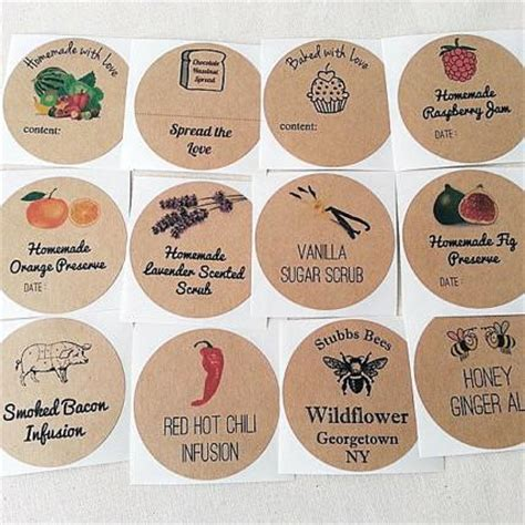 create   stickers custom mason jar canning labels