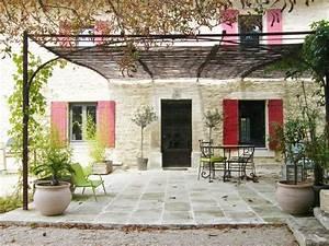 resultat de recherche d39images pour quotjardins maisons With idee deco jardin terrasse 0 deco terrasse provencale