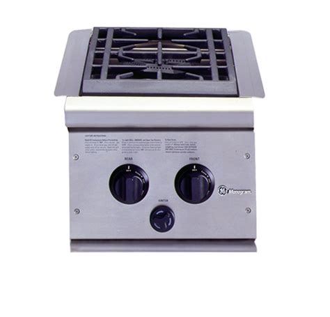 ge monogram dual burner outdoor cooktop natural gas zxnyss ge appliances