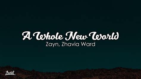 zayn zhavia ward    world lyrics lyric
