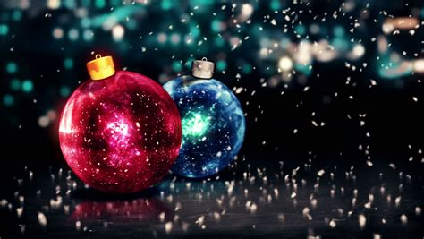 gold merry christmas bokeh beautiful 3d background loop animation 4k resolution ultra