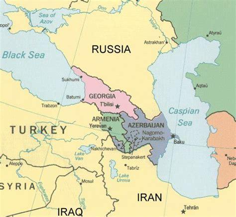 Georgia Eastern Europe Map.Georgia Eastern Europe Map